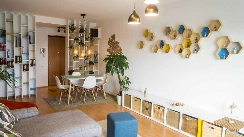 adelaparvu.com despre apartament de 3 camere, 90 mp, in stil scandinav, Bucuresti, design arh. Cristian Emanuel Patrascu (1)