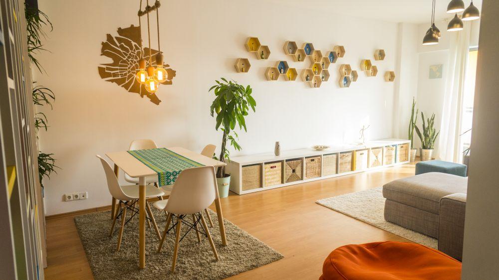 adelaparvu.com despre apartament de 3 camere, 90 mp, in stil scandinav, Bucuresti, design arh. Cristian Emanuel Patrascu (2)