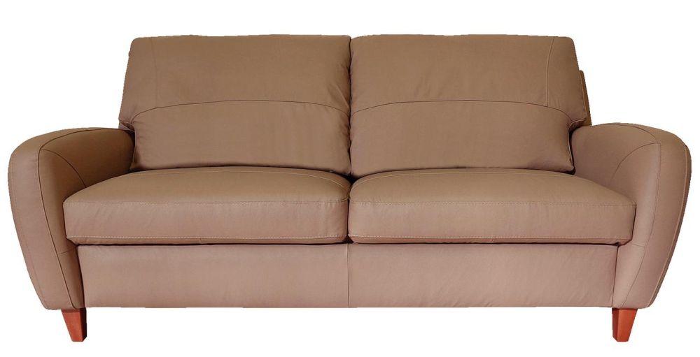 """Canapea """"Mandras"""" din piele naturală fabricată în România. Dimensiuni L/H/A: 207x98x97 cm VEZI PREȚ AICI"""