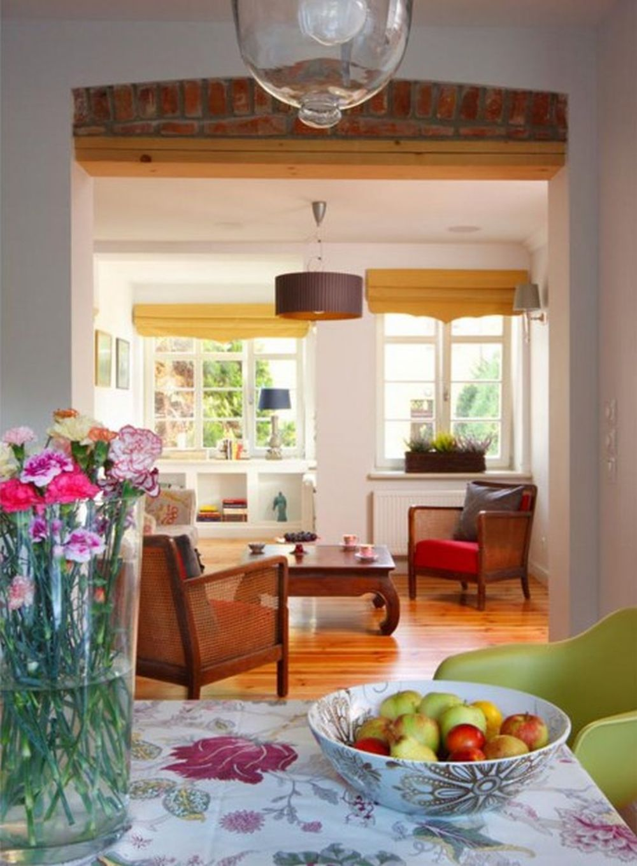 adelaparvu.com despre casa cu interior in stil englezesc, casa Polonia, design Marta Sikorska, Foto Michal Zalewski (3)