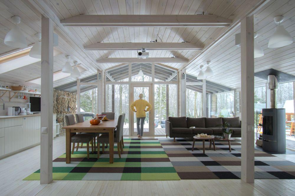 adelaparvu.com despre casa din lemn construita in 10 zile, 110 mp, arhitectura Bio Architects, constructie DublDom (13)