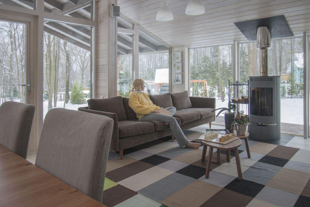 adelaparvu.com despre casa din lemn construita in 10 zile, 110 mp, arhitectura Bio Architects, constructie DublDom (14)