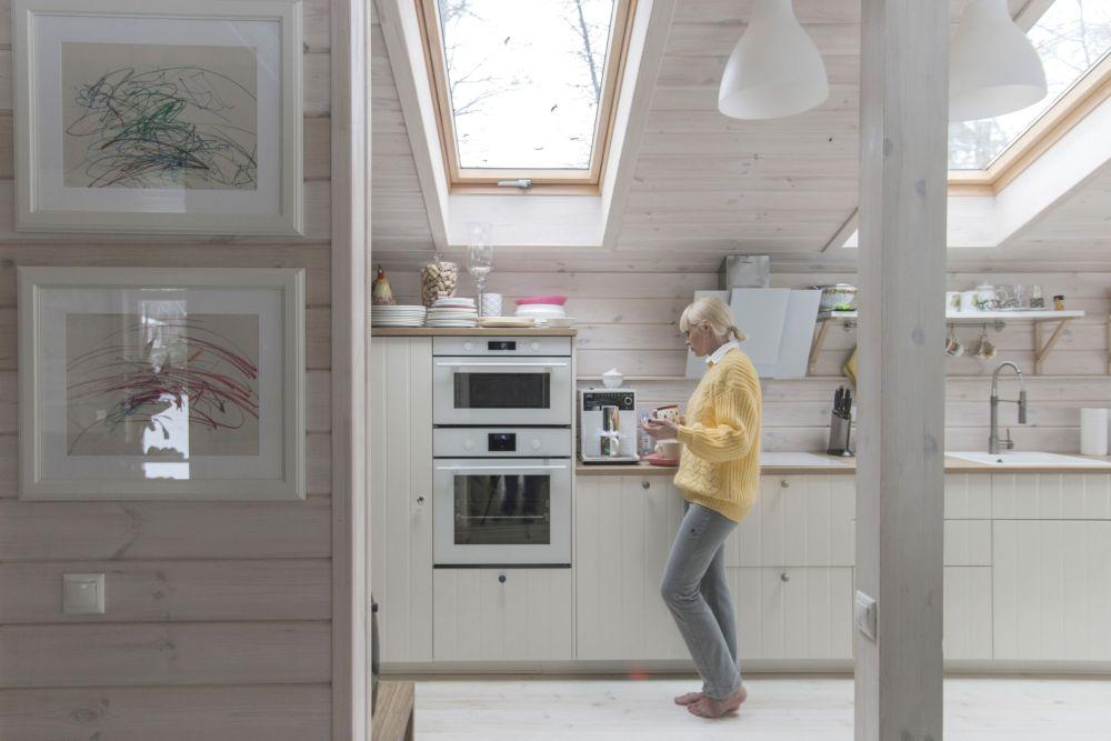 adelaparvu.com despre casa din lemn construita in 10 zile, 110 mp, arhitectura Bio Architects, constructie DublDom (16)