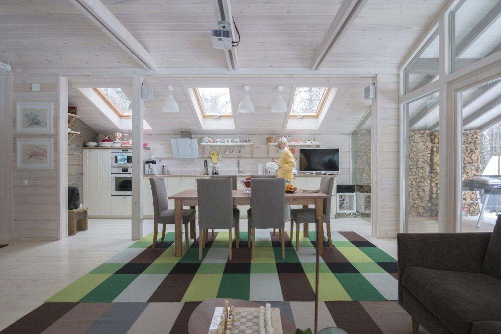adelaparvu.com despre casa din lemn construita in 10 zile, 110 mp, arhitectura Bio Architects, constructie DublDom (18)