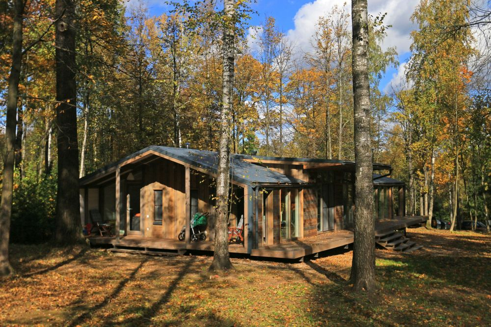 adelaparvu.com despre casa din lemn construita in 10 zile, 110 mp, arhitectura Bio Architects, constructie DublDom (2)