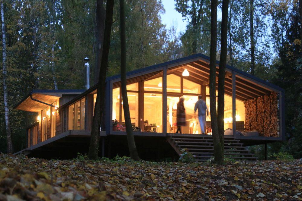 adelaparvu.com despre casa din lemn construita in 10 zile, 110 mp, arhitectura Bio Architects, constructie DublDom (22)
