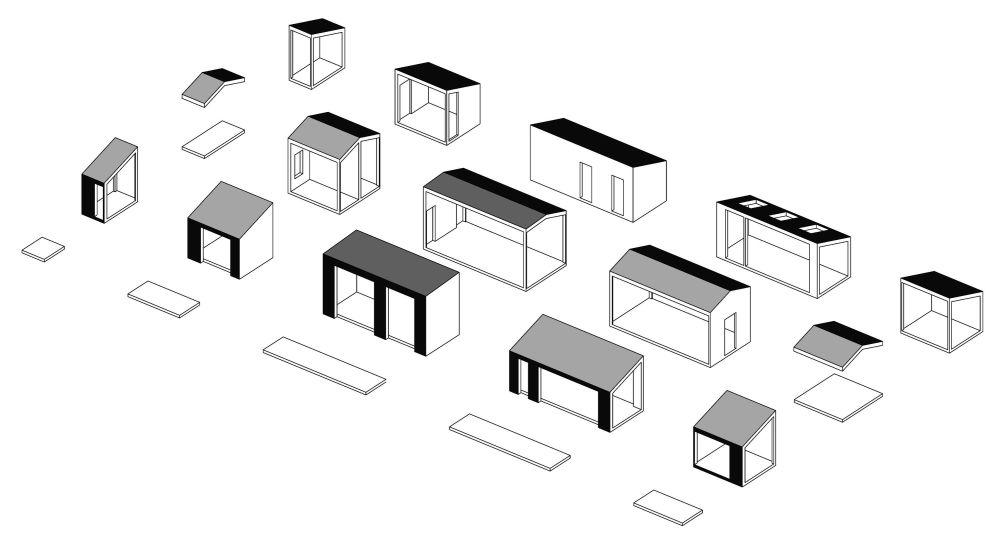 adelaparvu.com despre casa din lemn construita in 10 zile, 110 mp, arhitectura Bio Architects, constructie DublDom (4)
