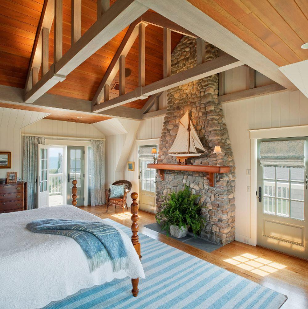 adelaparvu.com despre casa din lemn cu interior in stil marin, SUA, foto Dennis Moffitt Painting (10)