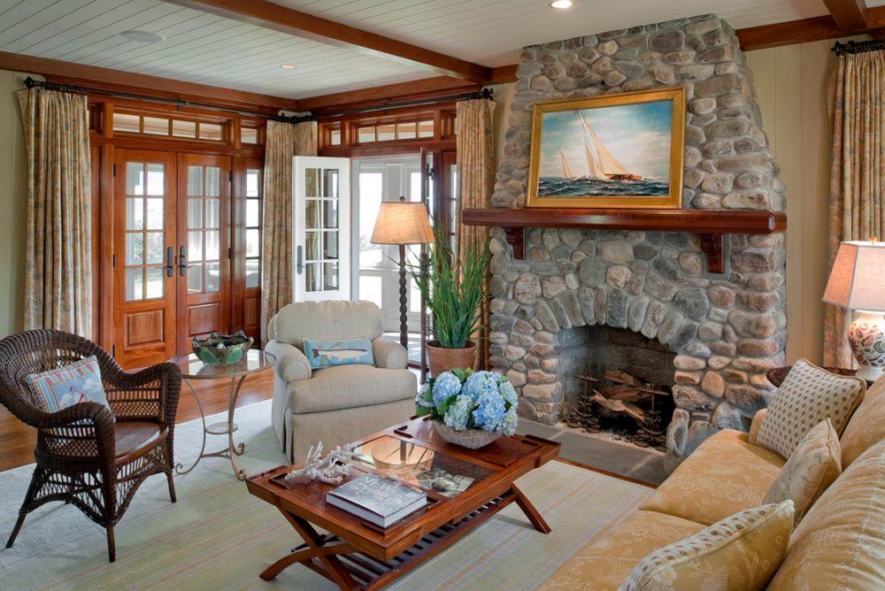 adelaparvu.com despre casa din lemn cu interior in stil marin, SUA, foto Dennis Moffitt Painting (11)