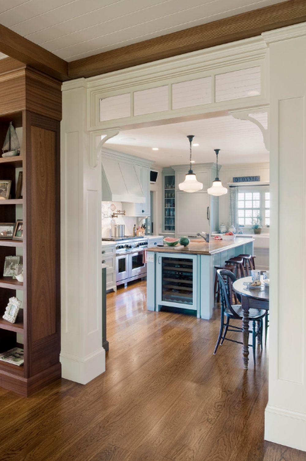 adelaparvu.com despre casa din lemn cu interior in stil marin, SUA, foto Dennis Moffitt Painting (14)