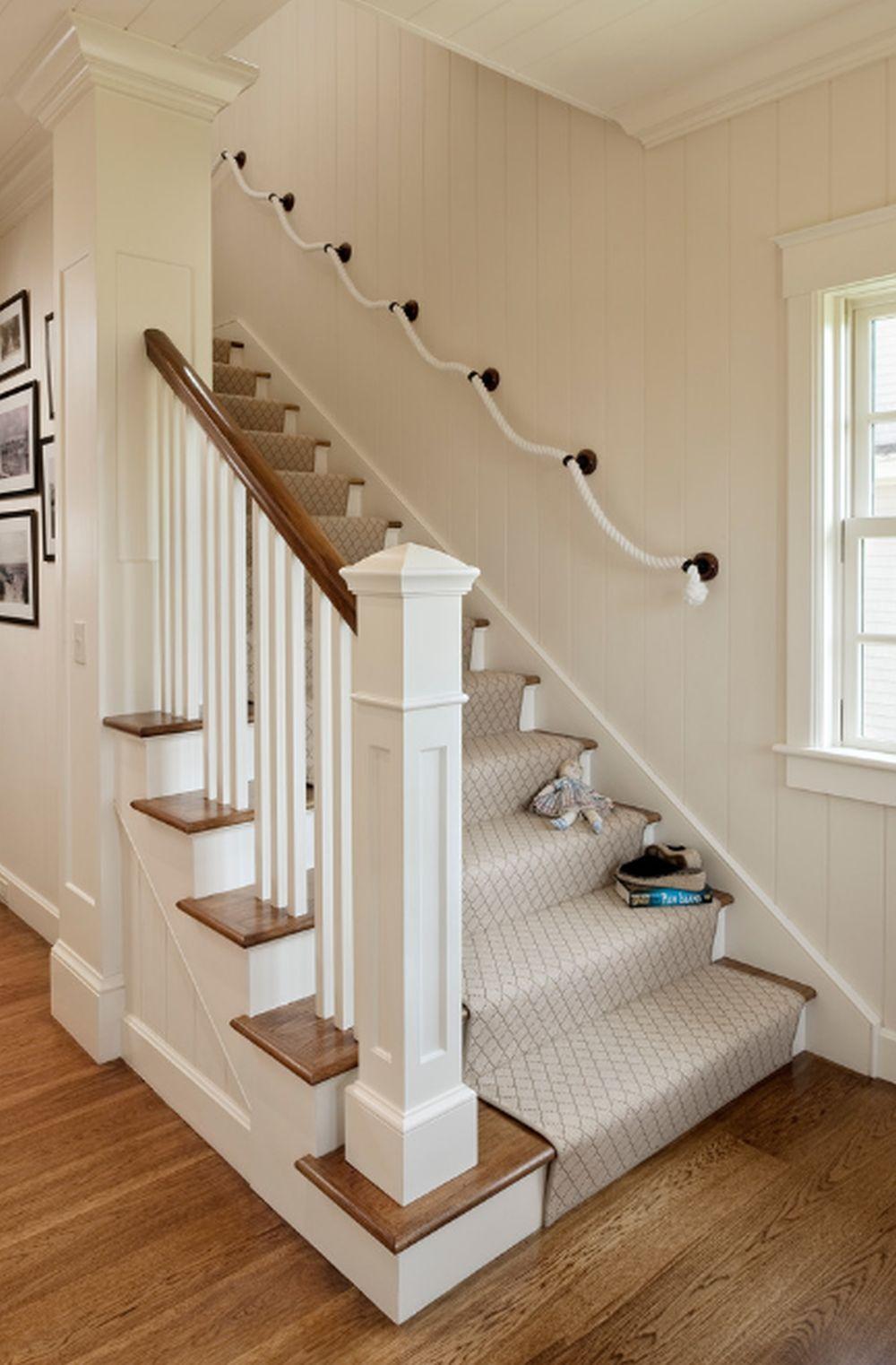 adelaparvu.com despre casa din lemn cu interior in stil marin, SUA, foto Dennis Moffitt Painting (4)