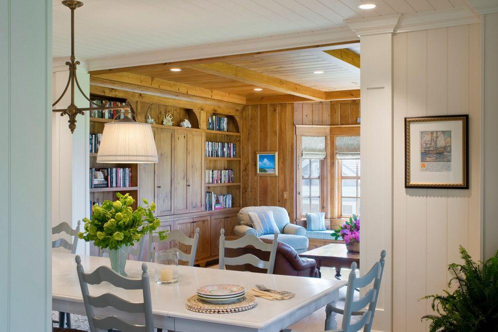 adelaparvu.com despre casa din lemn cu interior in stil marin, SUA, foto Dennis Moffitt Painting (5)