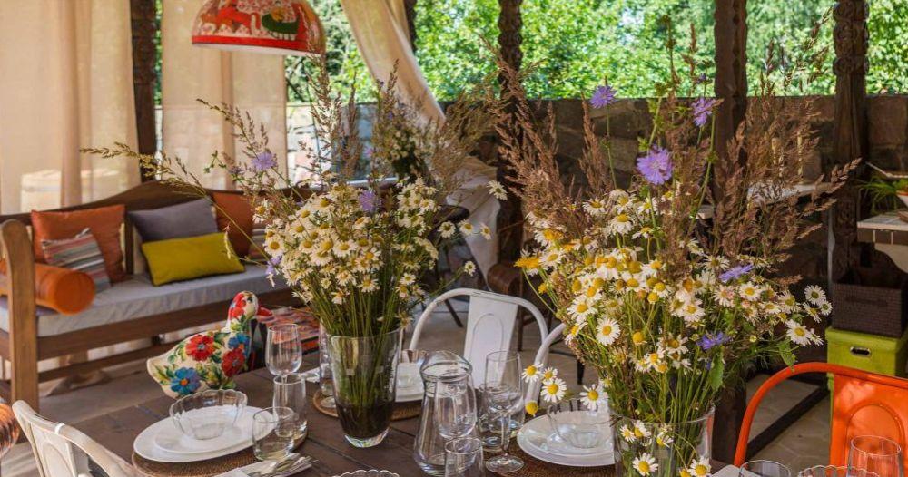 adelaparvu.com despre foisor cu bucatarie de vara amenajate in stil rustic, foisor Rusia, design Ekaterina Zorkaya, Foto Olga Olyushina (8)