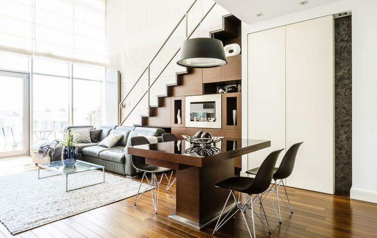 adelaparvu.com despre loft cu canapea la baza scarii, designer Anna Serafin, Foto foto&mohito (10)