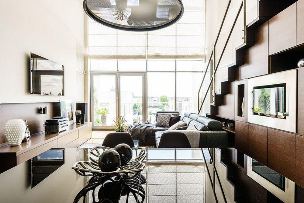 adelaparvu.com despre loft cu canapea la baza scarii, designer Anna Serafin, Foto foto&mohito (11)