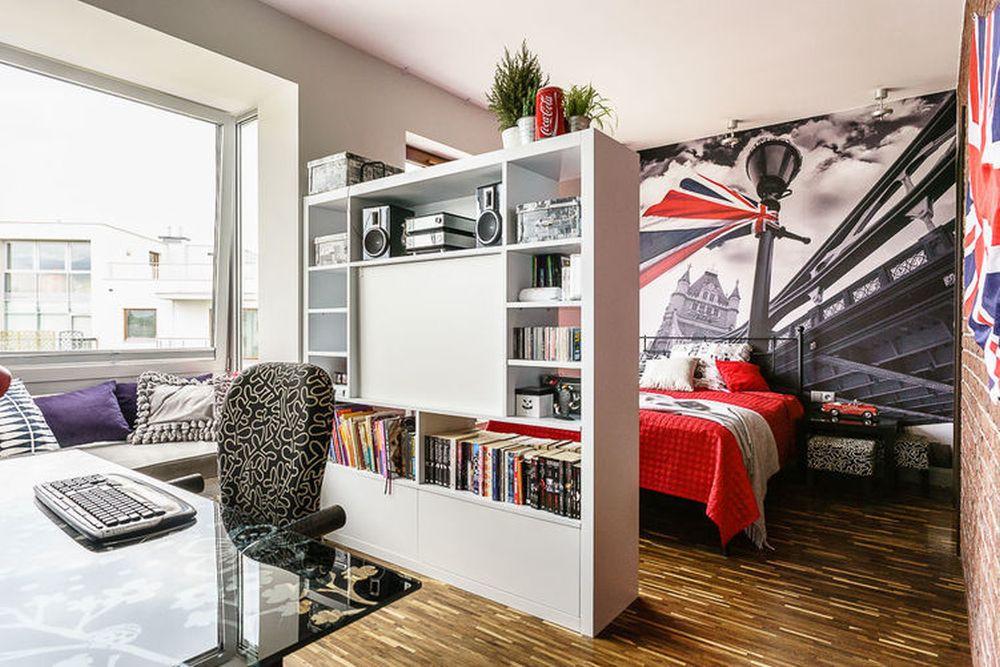 adelaparvu.com despre loft cu canapea la baza scarii, designer Anna Serafin, Foto foto&mohito (9)