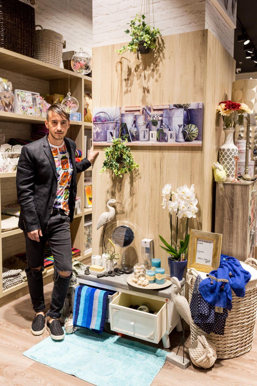 adelaparvu.com despre magazinul de decoratiuni Meli Melo Deco, decor corner Carli Marian