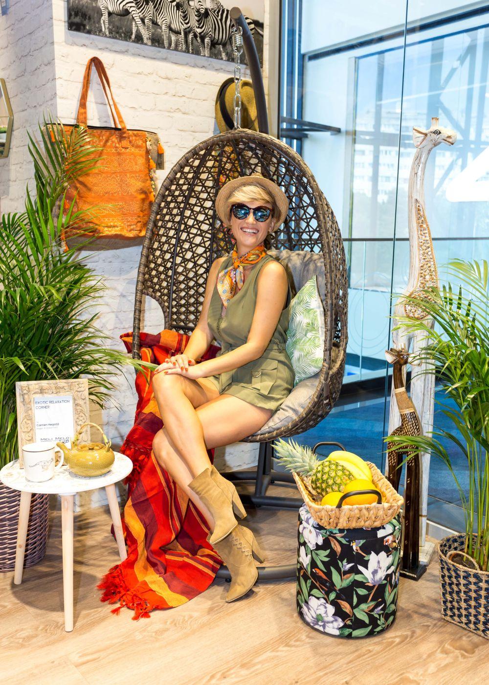adelaparvu.com despre magazinul de decoratiuni Meli Melo Deco, decor corner carmen negoita