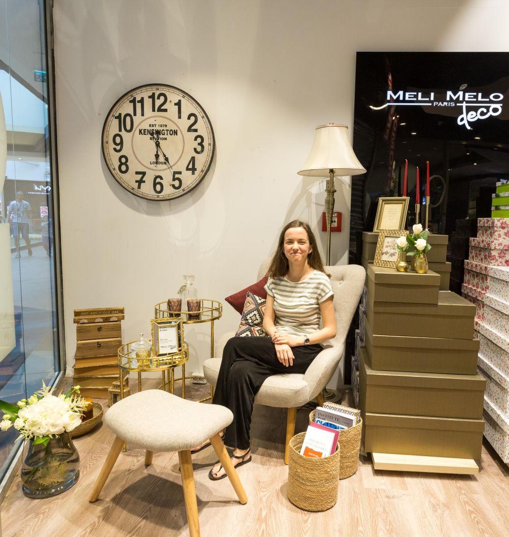 adelaparvu.com despre magazinul de decoratiuni Meli Melo Deco, decor vitrina Irina Cucu 2