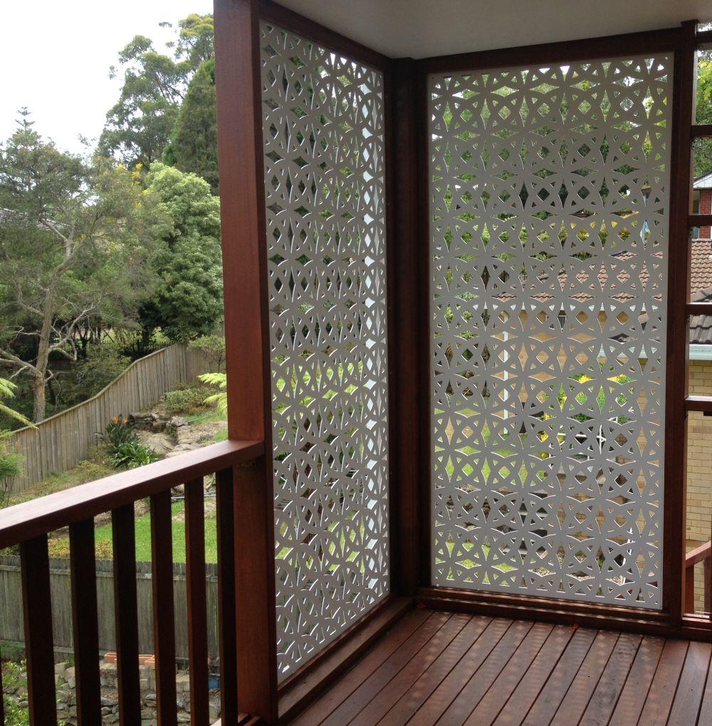 adelaparvu.com despre paravane pe balcon, solutii pentru intimitate (1)