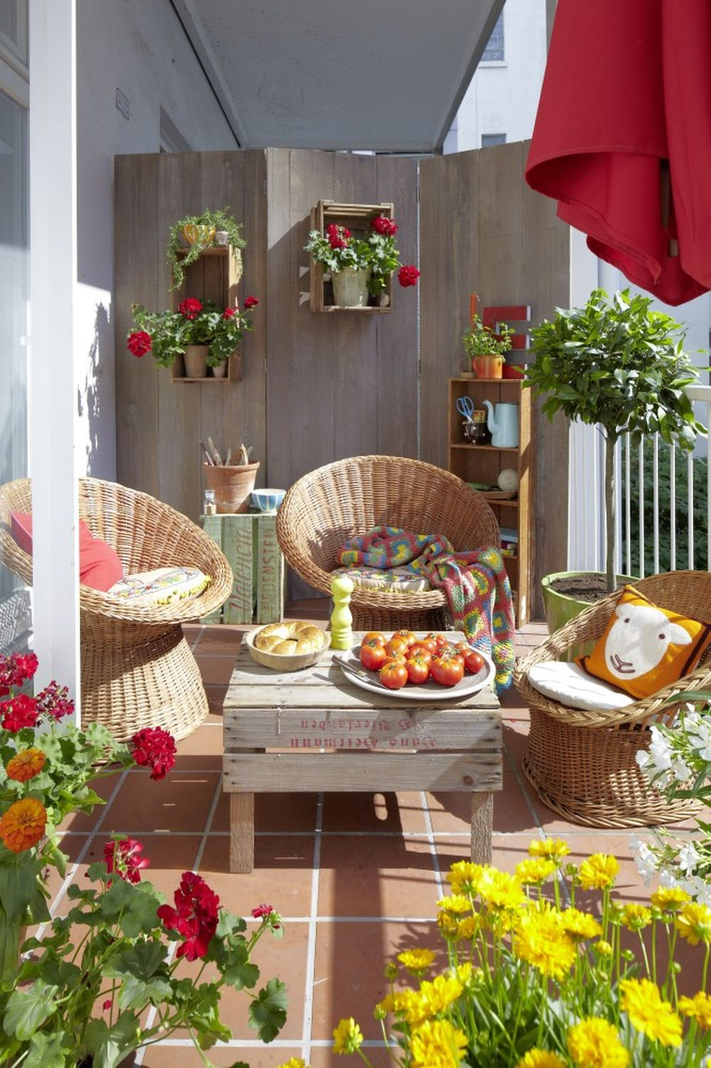 adelaparvu.com despre paravane pe balcon, solutii pentru intimitate (19)