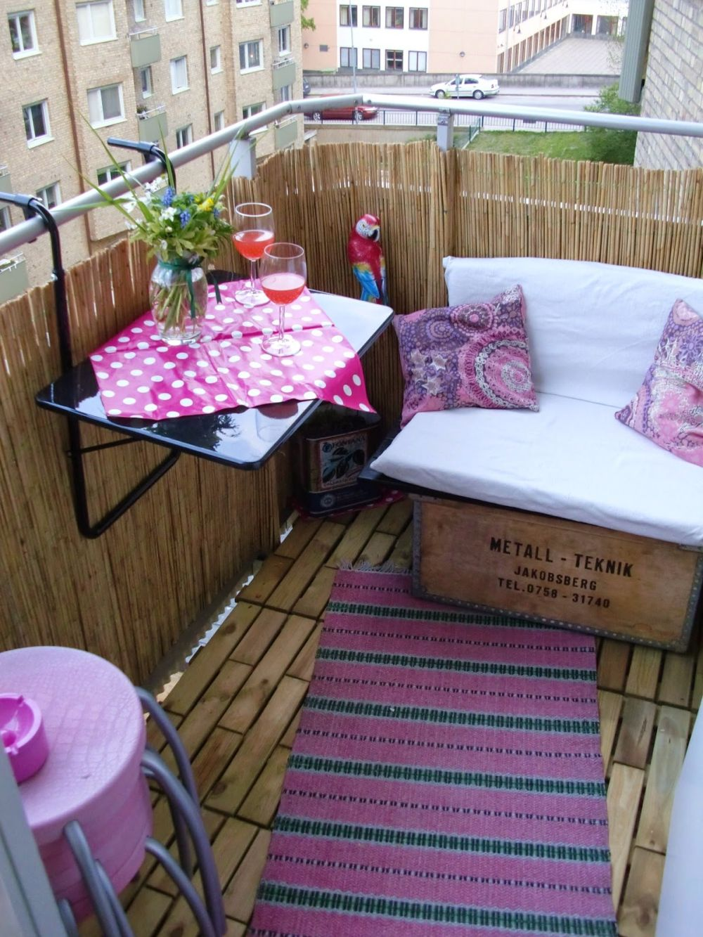 adelaparvu.com despre paravane pe balcon, solutii pentru intimitate (2)