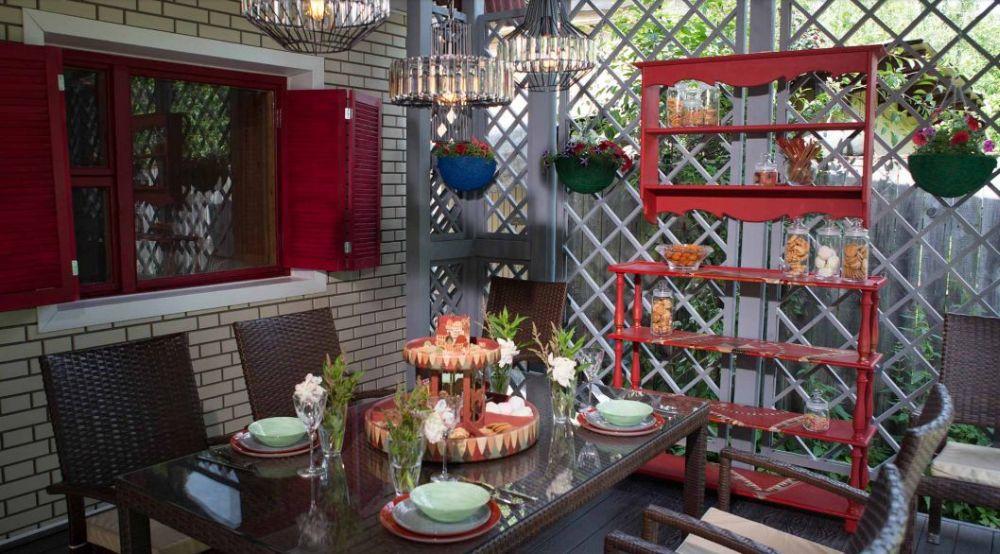 adelaparvu.com despre veranda in stil eneglezesc, Rusia, design Regina Urm, Foto Olga Olyushina (2)