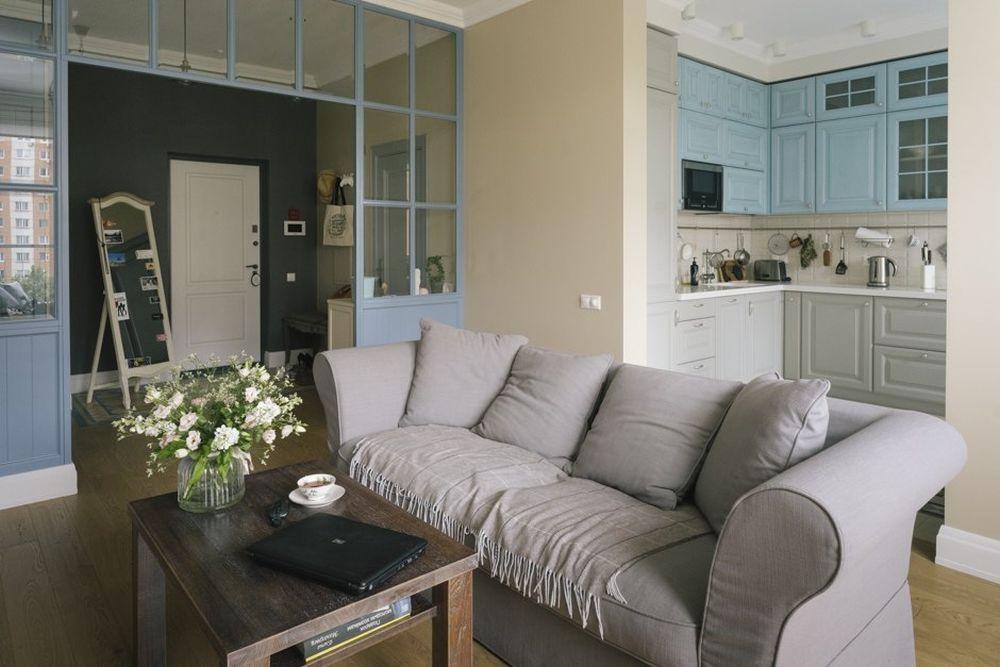 adelaparvu.com despre apartament 2 camere, 72 mp, Rusia, design Zi Design, Foto Polina Rukavichkina (18)