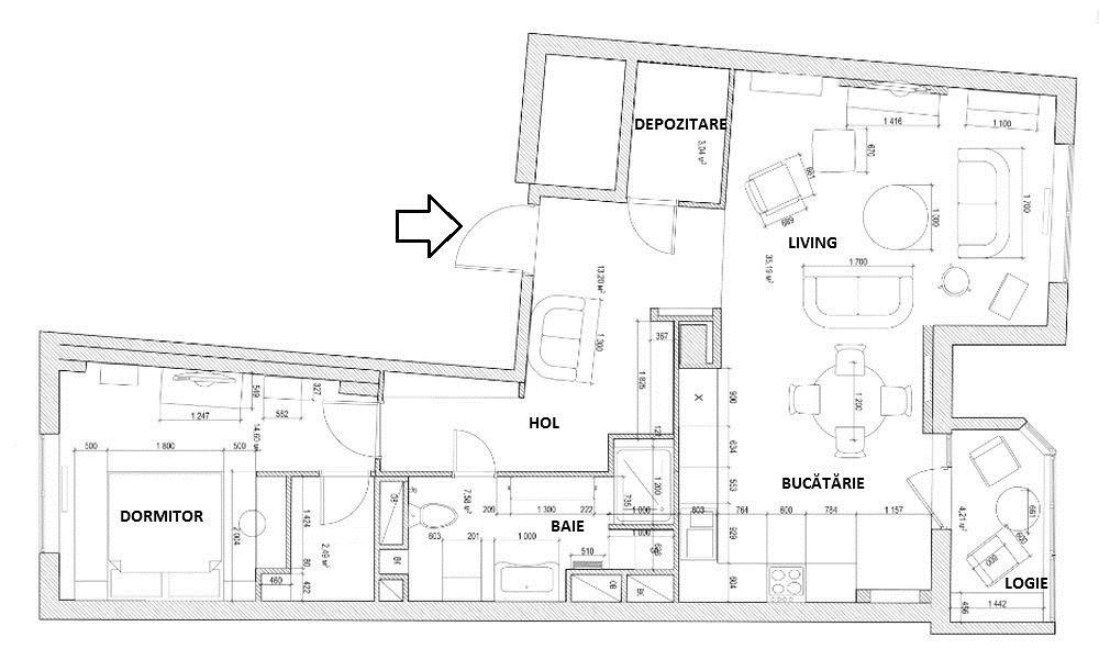 adelaparvu.com despre apartament 2 camere 82 mp, Rusia, designer Svetlana Yurkova 55