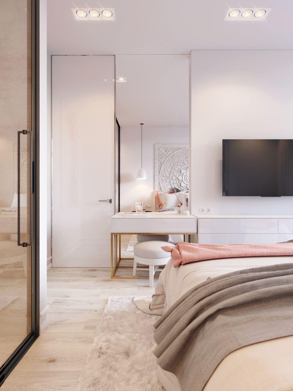 adelaparvu.com despre apartament in nuante delicate, designer Dima Kravtsov (1)
