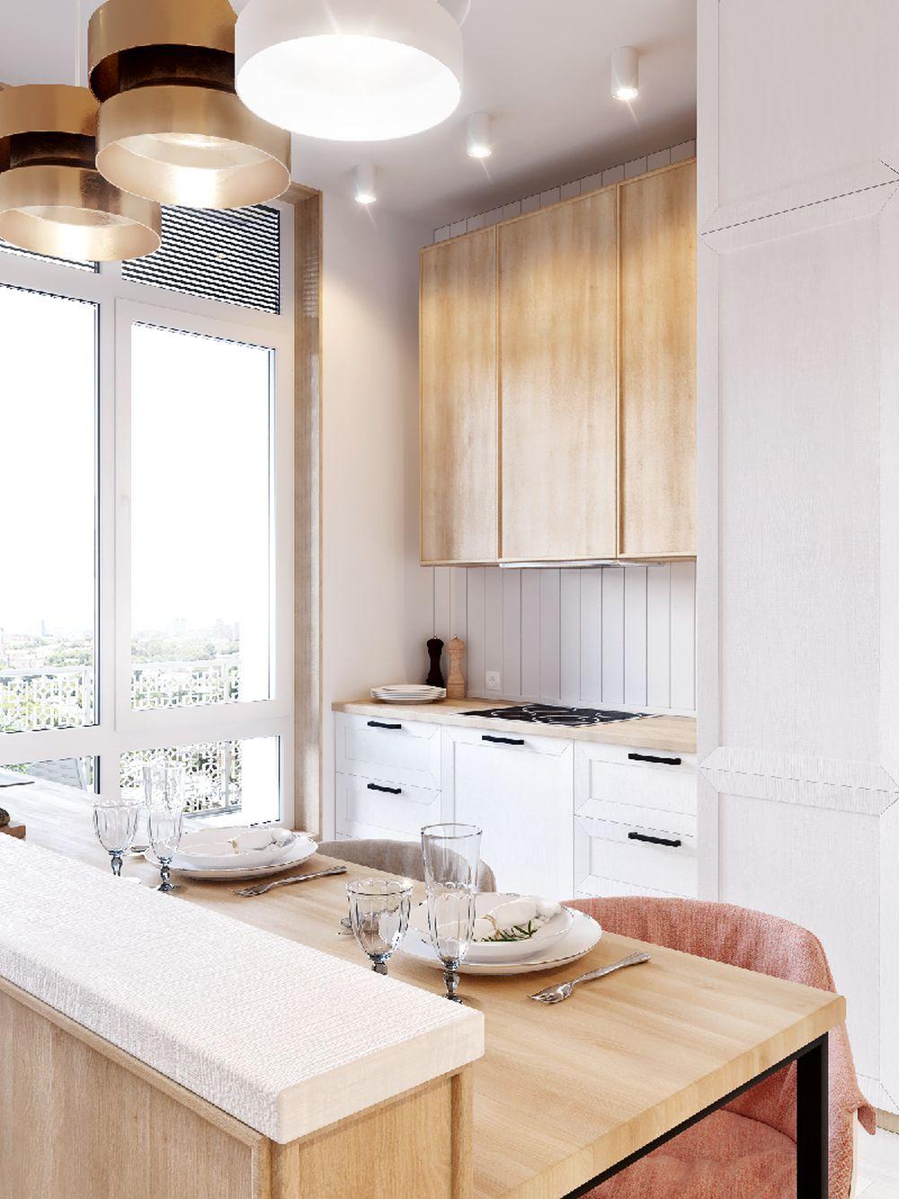 adelaparvu.com despre apartament in nuante delicate, designer Dima Kravtsov (11)