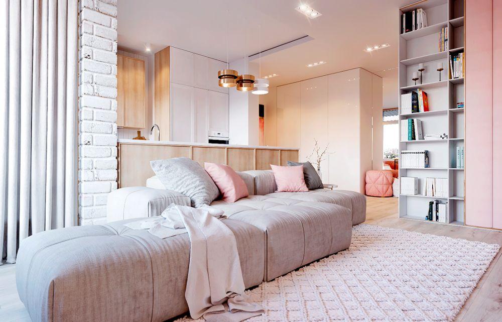 adelaparvu.com despre apartament in nuante delicate, designer Dima Kravtsov (6)