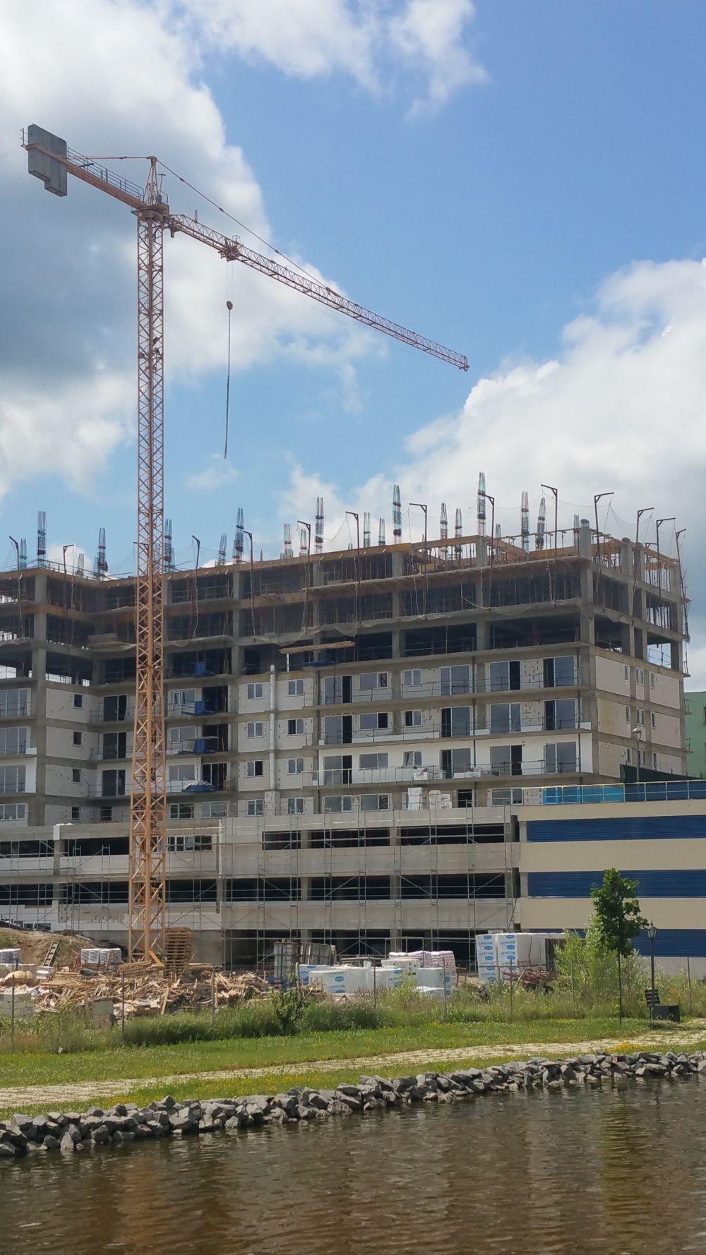 adelaparvu.com despre blocuri cu ziduri rezistente la foc Macon, Viva Resindece Cluj-Napoca, (1)
