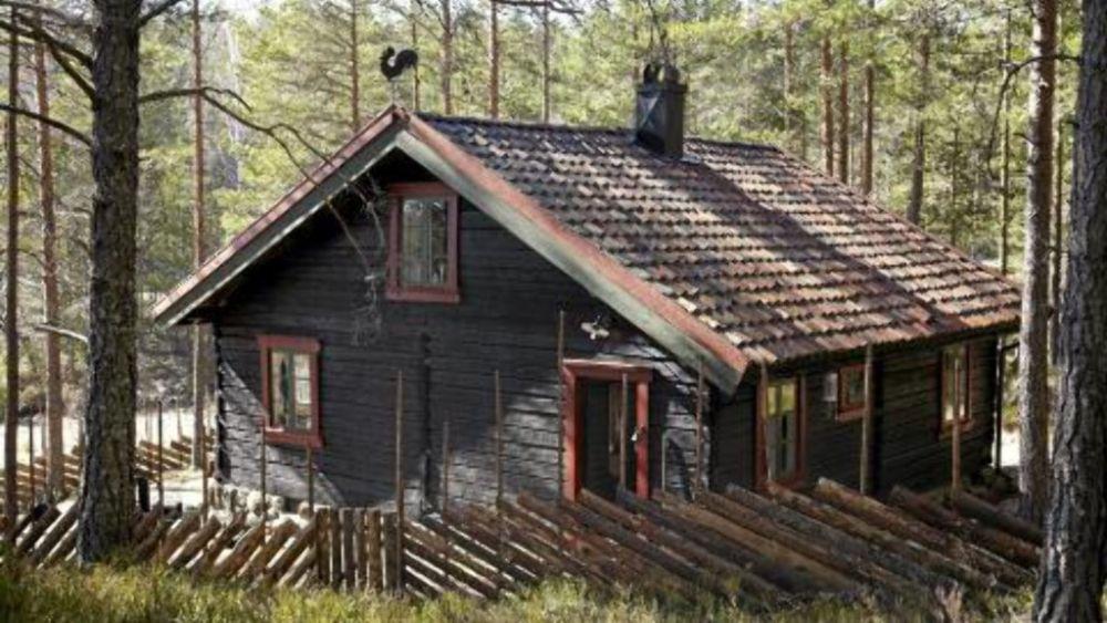 adelaparvu.com despre cabana in padure cu interior romantic, Foto Erik Jæger (1)