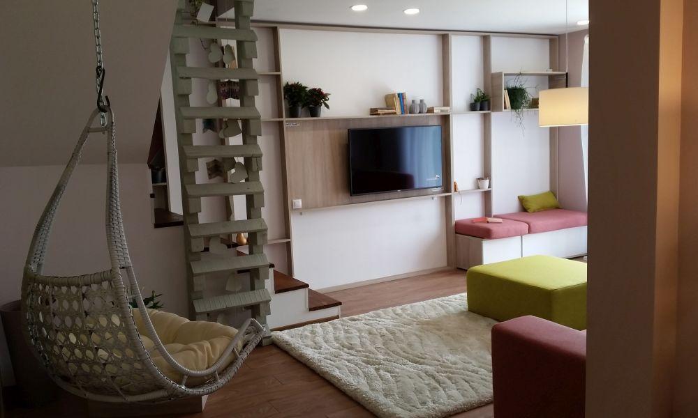 adelaparvu.com despre renovarea casei familie Motrogan, ep 2, sez 4 Visuri la cheie, living, Foto Adela Parvu