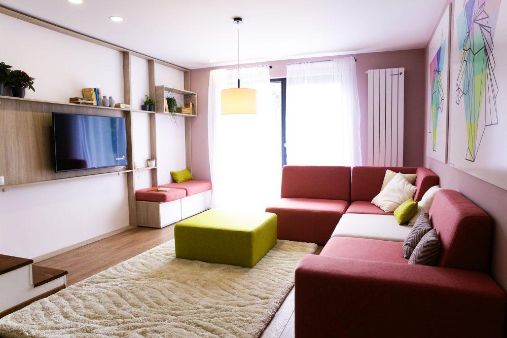 adelaparvu.com despre renovarea casei familie Motrogan, ep 2, sez 4 Visuri la cheie, living, Foto Razvan Lupica (6)