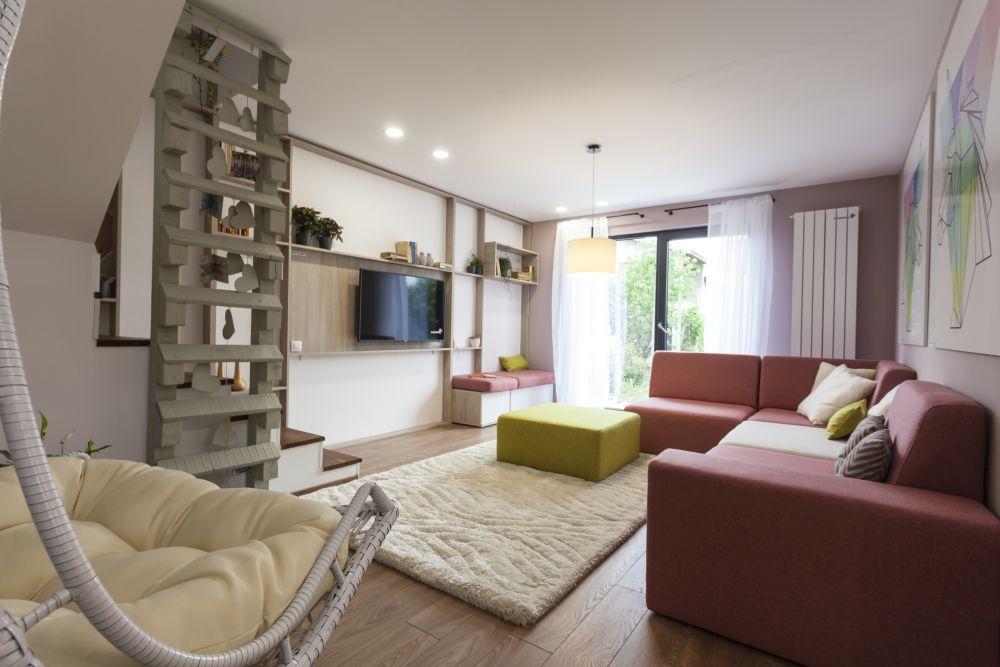 adelaparvu.com despre renovarea casei familie Motrogan, ep 2, sez 4 Visuri la cheie, living, Foto Sever Popescu (2)