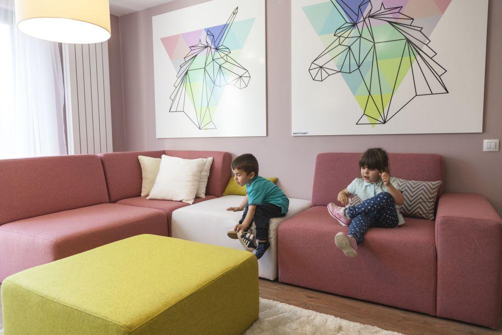 adelaparvu.com despre renovarea casei familie Motrogan, ep 2, sez 4 Visuri la cheie, living, Foto Sever Popescu (6)