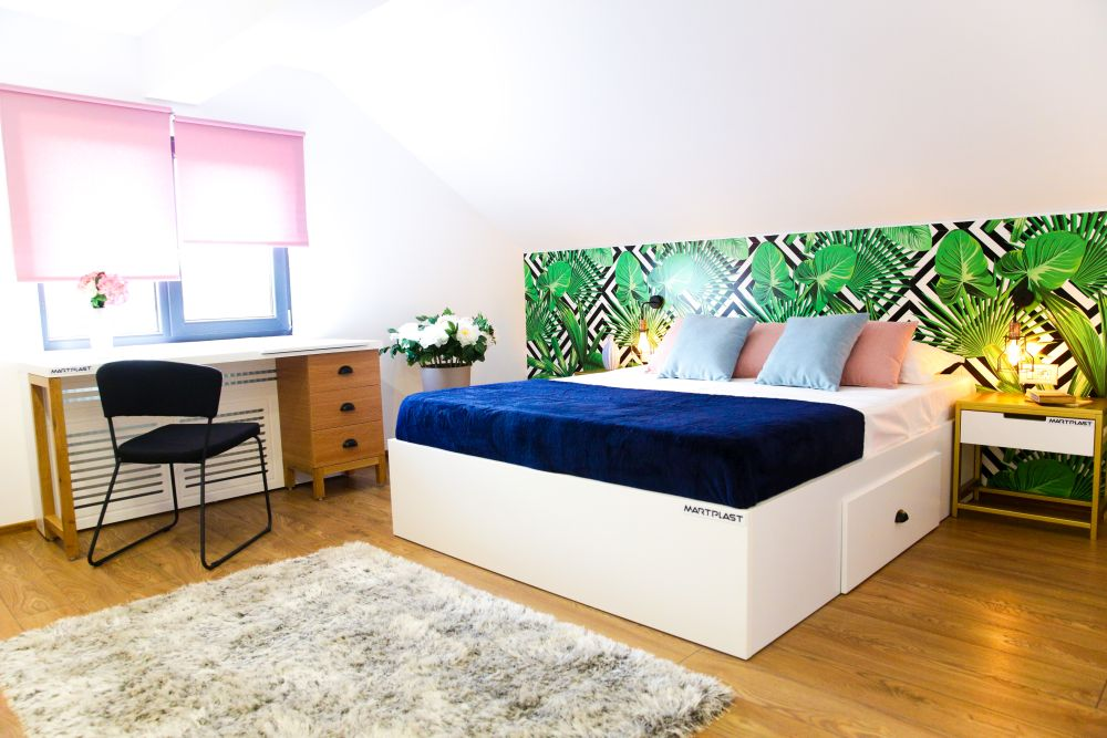 adelaparvu.com despre renovarea casei familiei Motrogan, Urziceni, ep 2, sez 4 Visuri la cheie, dormitor mansarda, Foto Razvan Lupica (1)