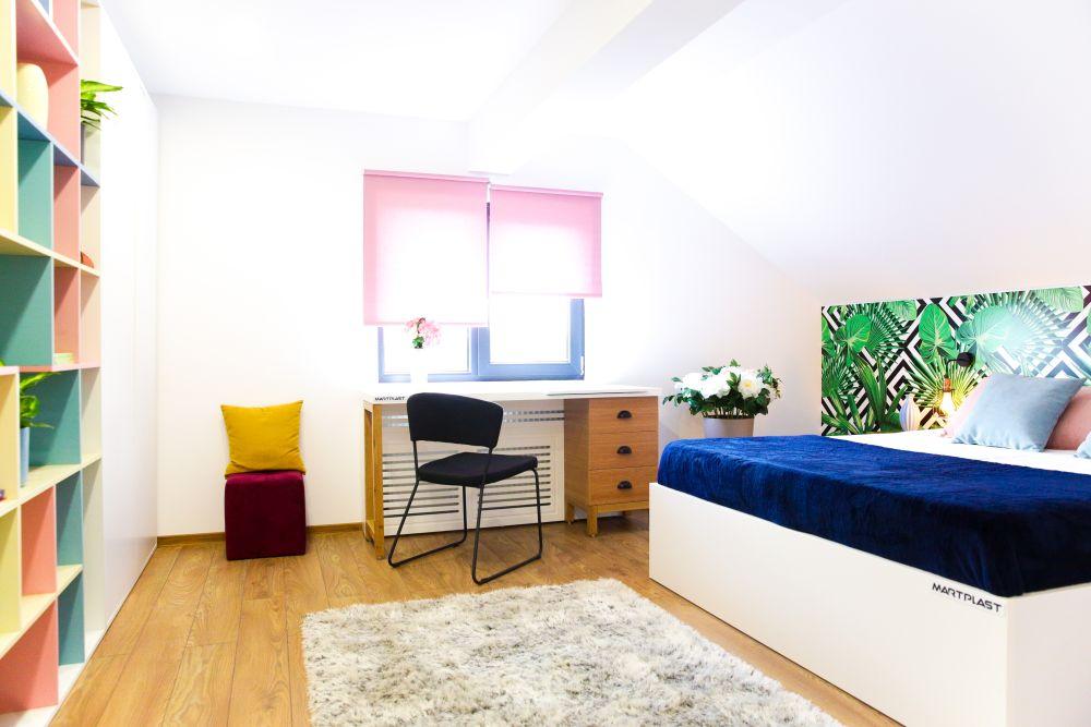 adelaparvu.com despre renovarea casei familiei Motrogan, Urziceni, ep 2, sez 4 Visuri la cheie, dormitor mansarda, Foto Razvan Lupica (2)