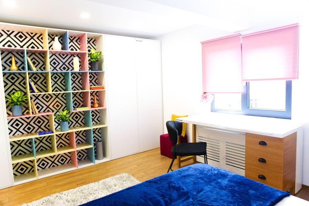adelaparvu.com despre renovarea casei familiei Motrogan, Urziceni, ep 2, sez 4 Visuri la cheie, dormitor mansarda, Foto Razvan Lupica (3)