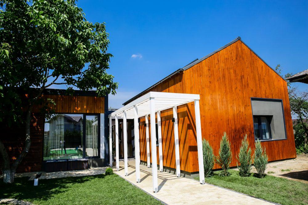 Casa după renovarea făcută de către echipa Visuri la cheie