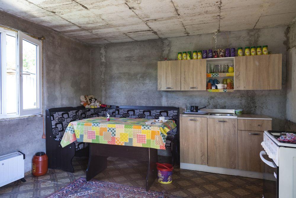 Bucătăria înainte de renovare.