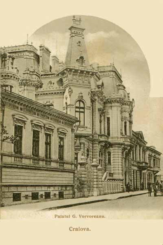 Imagini de arhivă ale Palatului Vorvoreanu