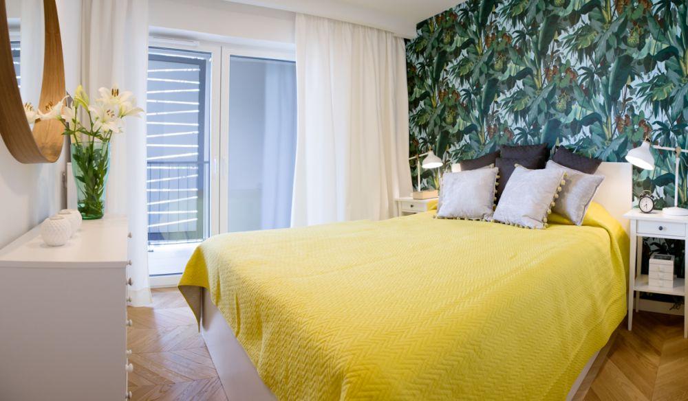 adelaparvu.com despre apartament 60 mp, Polonia, Designer Pawel Liszewski, Foto Tomasz Suszczynski, Dormitor (4)