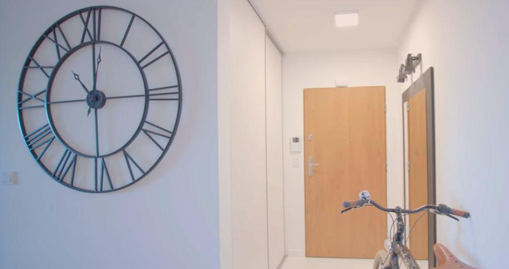 adelaparvu.com despre apartament 60 mp, Polonia, Designer Pawel Liszewski, Foto Tomasz Suszczynski, Hol intrare