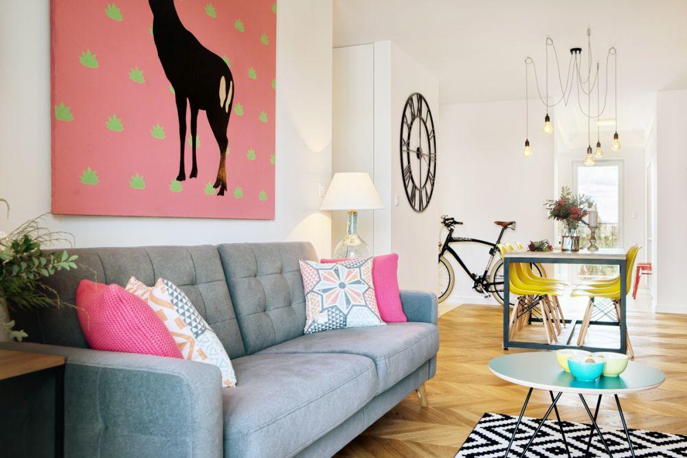 adelaparvu.com despre apartament 60 mp, Polonia, Designer Pawel Liszewski, Foto Tomasz Suszczynski, Living (4)