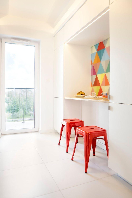 adelaparvu.com despre apartament 60 mp, Polonia, Designer Pawel Liszewski, Foto Tomasz Suszczynski, bucatarie (1)