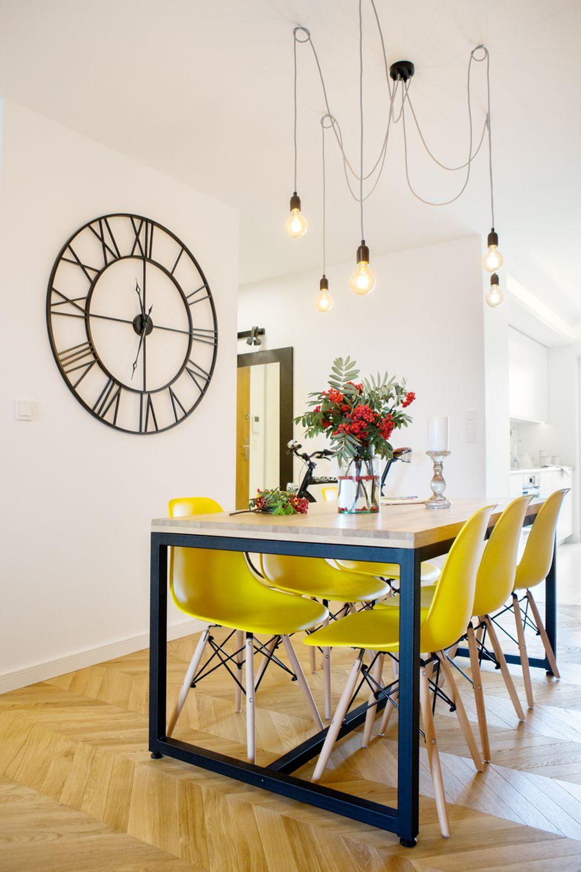 adelaparvu.com despre apartament 60 mp, Polonia, Designer Pawel Liszewski, Foto Tomasz Suszczynski, sufragerie (3)