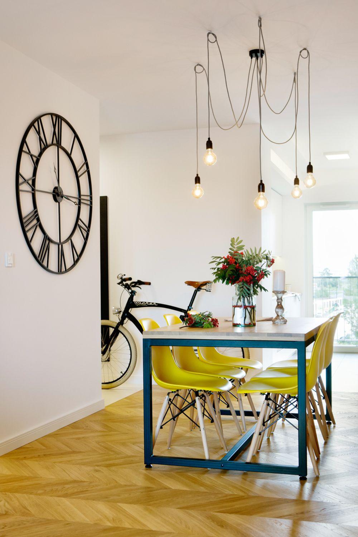 adelaparvu.com despre apartament 60 mp, Polonia, Designer Pawel Liszewski, Foto Tomasz Suszczynski, sufragerie (6)